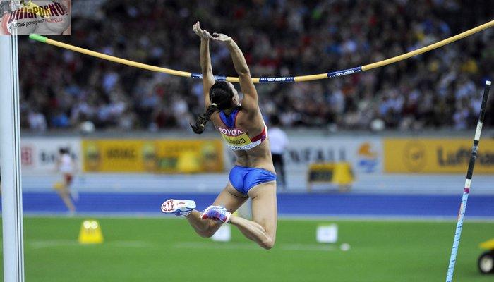 La saltadora de pertiga Yelena Isinbayeva - foto 8
