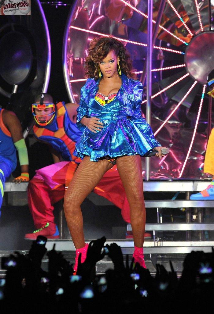 Las fotos del concierto de Rihanna en Belfast - foto 1