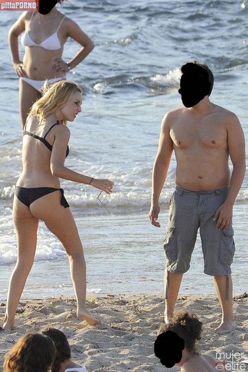 El culito de Berta Collado en las playas de Ibiza - foto 4