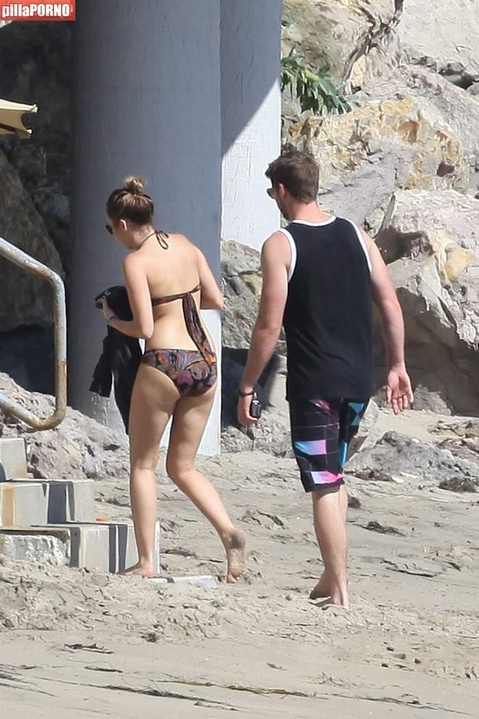 Miley Cyrus en bikini en las playas de Malibu - foto 18
