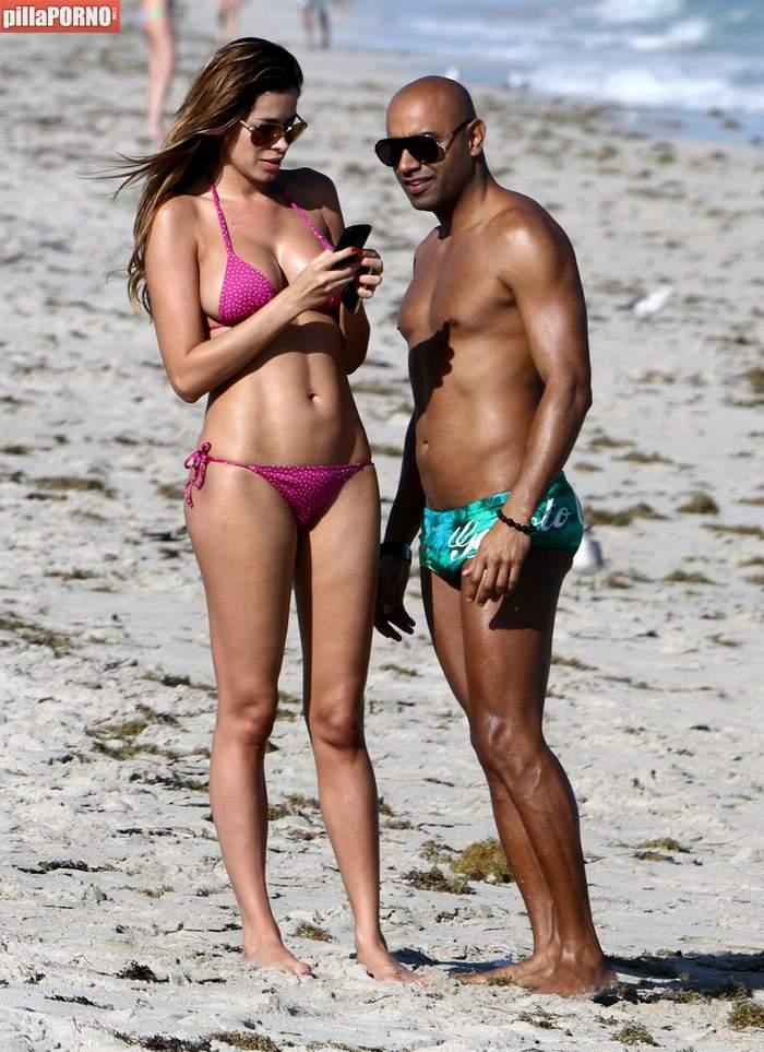 Espectacular Aida Yespica en las playas de Miami - foto 2