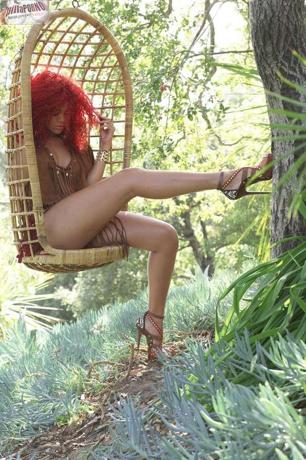 Rihanna muy sexy para Rolling Stone - foto 7