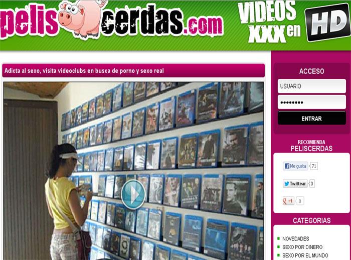 Latina visita videoclubs en busca de sexo real - foto 1
