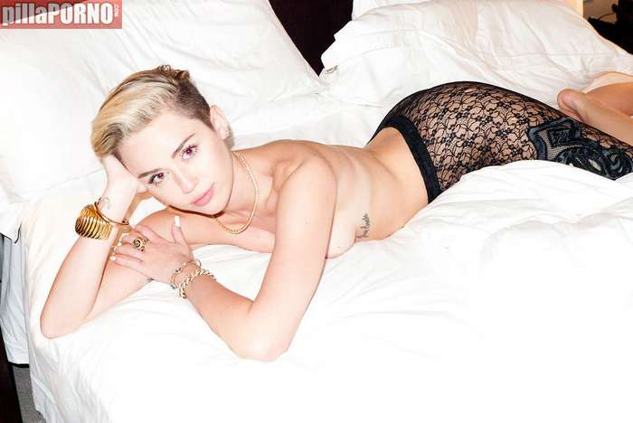 Miley Cyrus se desnuda para Terry Richardson - foto 9